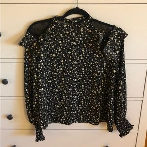 Brand New * Floral Long Sleeve Blouse